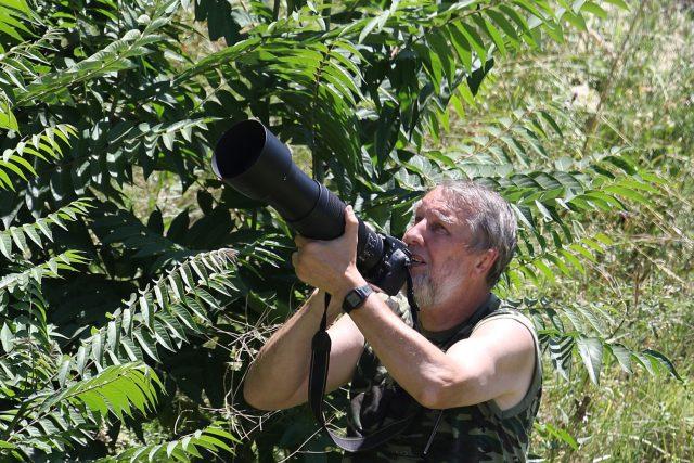 Jan Kopecký, vědec Jihočeské univerzity a fotograf přírody