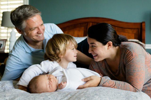 Rodina (ilustrační foto)