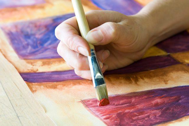 Malování s akvarely (ilustrační foto).