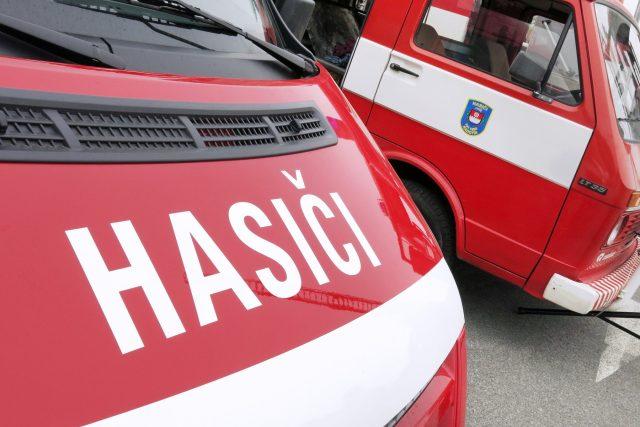 Na pražském Žižkově zasahují hasiči (ilustrační foto)