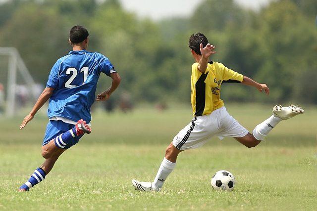 Fotbal (ilustrační foto)