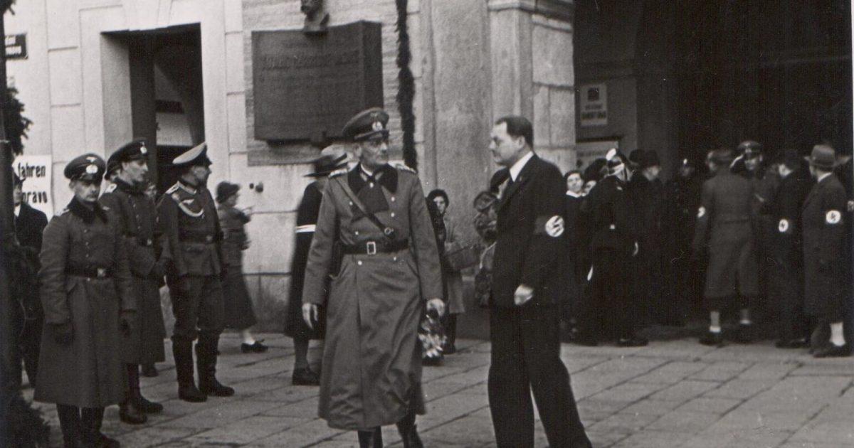 15 Březen 1939 Photo: Nacisté Vyrazili Ráno 15. Března 1939 Od Hranic Na