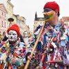 Do masopustního průvodu v Českých Budějovicích se zapojily typické jihočeské koledy