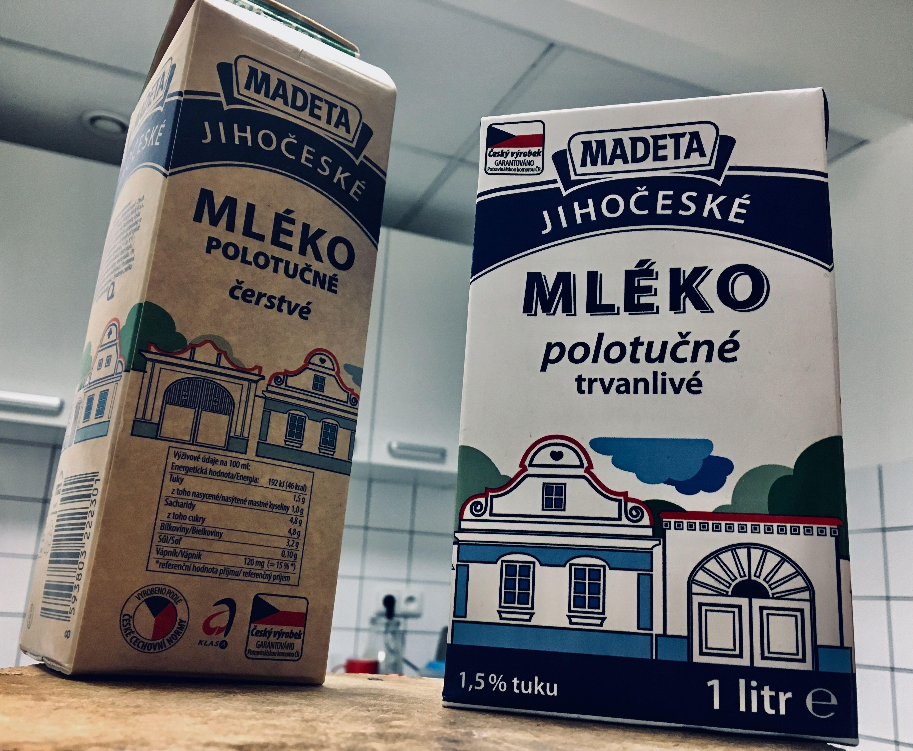 Výrobky mlékárny Madeta (ilustrační foto)