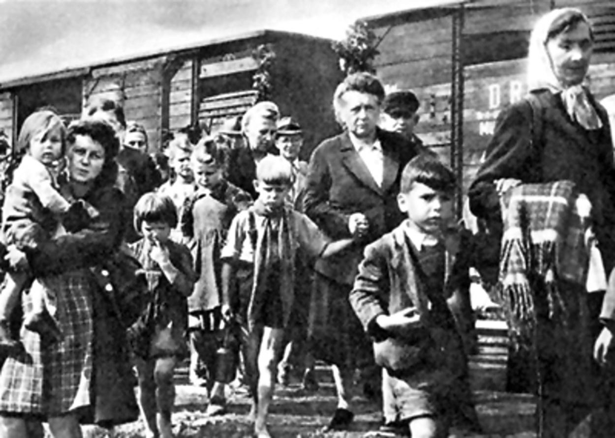 Odsunovaní Němci po druhé světové válce